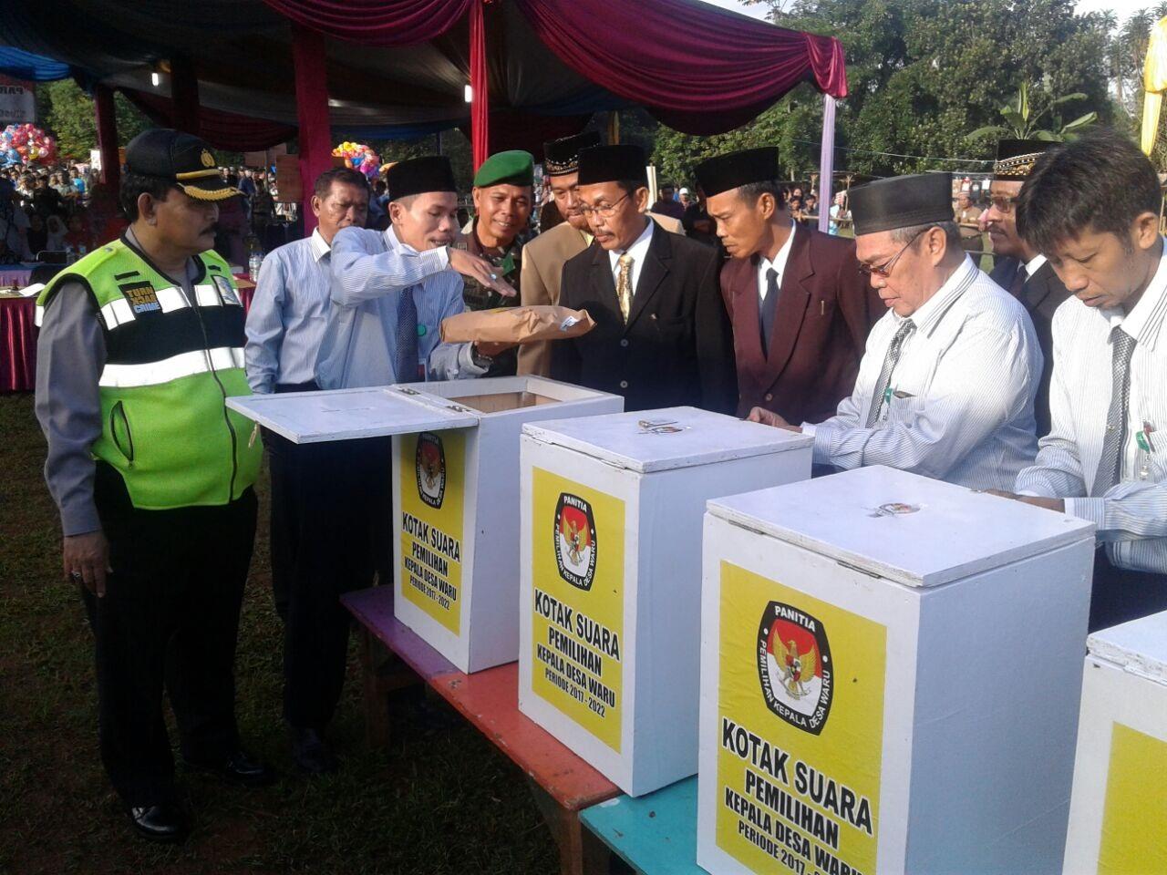 Kapolsek Parung Bersama Anggota Melaksanakan Pengamanan